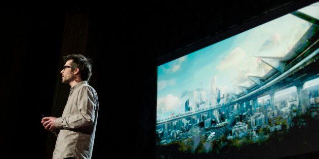 Martin Villeneuve, un Québécois à la conférence