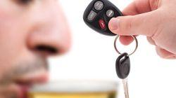 Les infractions pour alcool au volant sont en
