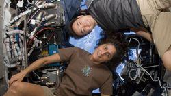 Les astronautes grandissent de 5 cm dans