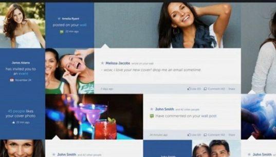 Un Facebook complètement réinventé!