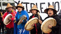 Les Autochtones poursuivent leurs manifestations à travers le