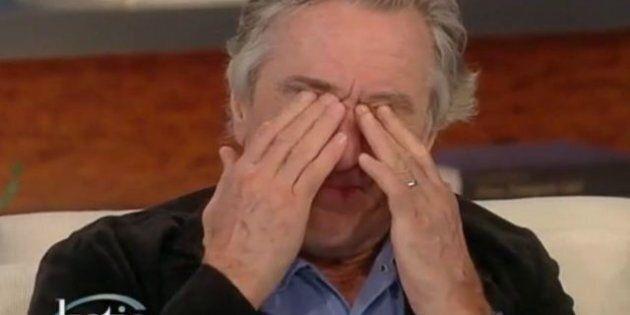 VIDÉO. Robert De Niro ému aux larmes par le scénario de son dernier film,