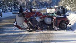 Une collision fait quatre morts dans le parc de La