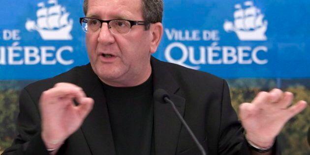 Le maire de Québec, Régis Labeaume, est élu 4e meilleur maire au