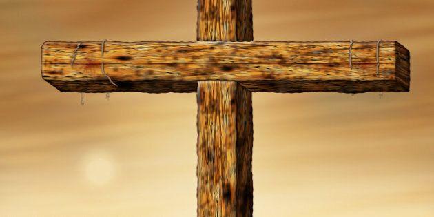 illustration of the cross