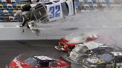 NASCAR : spectateurs blessés dans un horrible
