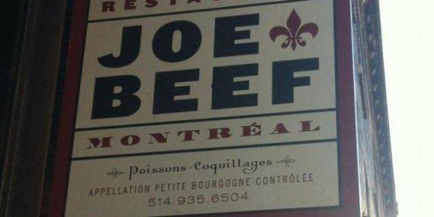 Le restaurant Joe Beef ciblé par l'Office de la langue française: le propriétaire fait une sortie