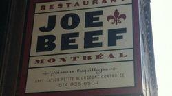 Le restaurant Joe Beef ciblé par l'Office de la langue