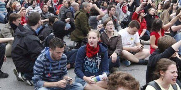 Les étudiants du Cégep du Vieux-Montréal sont en grève pour trois