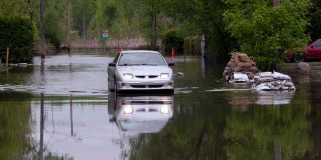 Inondations en Montérégie : des sinistrés attendent