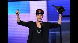 Justin Bieber remporte trois AMA