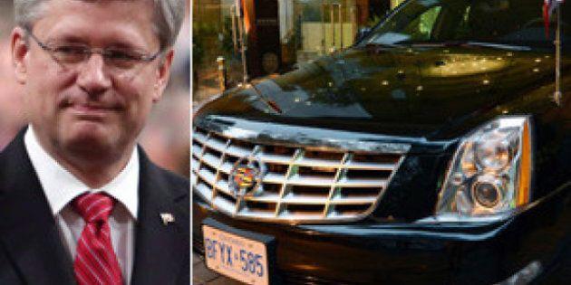 L'envoi des véhicules blindés de Stephen Harper en Inde a coûté environ 1