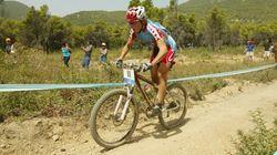 Enceinte, Marie-Hélène Prémont met de côté le vélo de montagne pour un