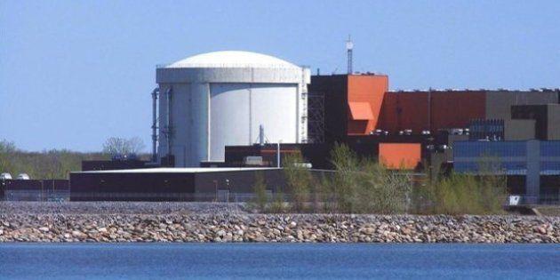 Bécancour: la centrale Gentilly-2 cesse de produire de l'électricité