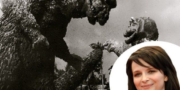 Juliette Binoche veut jouer dans un «remake» de «Godzilla»