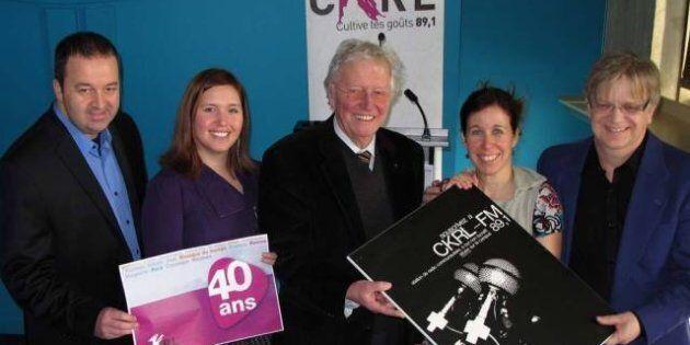 CKRL: 40 bougies pour la station de Québec qui célèbre son anniversaire cette
