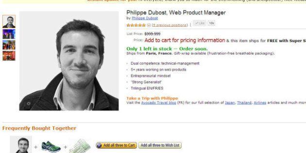 Philippe Dubost: un CV comme une page Web