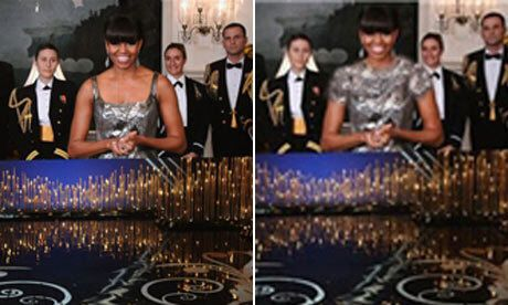 Oscars: Michelle Obama rhabillée par l'Iran pendant la cérémonie