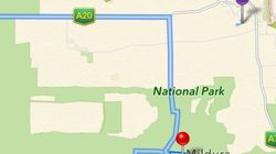 Apple Maps, un danger