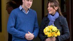 Le prince William fait des blagues sur la grossesse de sa