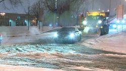 Neige, pluie, verglas et écoles fermées au