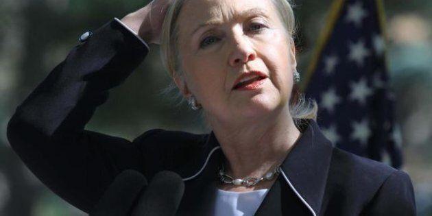 Hillary Clinton a quitté