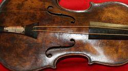 Titanic: un violon
