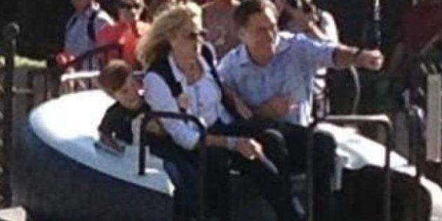 Mitt Romney se remet de sa défaite à Disneyland
