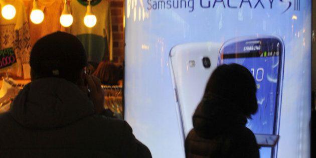 Téléphones intelligents: le boom se poursuit et Samsung creuse l'écart sur