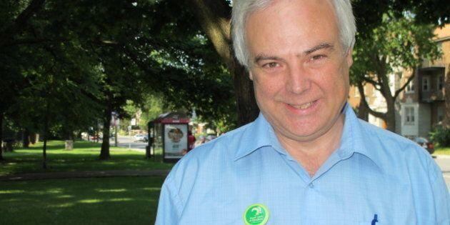 Le chef du Parti vert du Québec quitte son poste en en plein