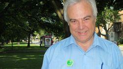 Le chef du Parti vert du Québec