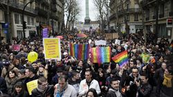 Manifestations pour le mariage gai en France