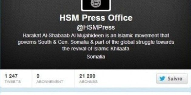 Le compte Twitter des shebab a été suspendu après la publication des photos du soldat français