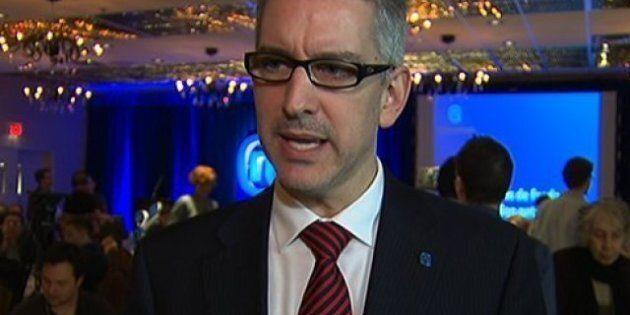 Jean-Martin Aussant d'Option Nationale quitte la région de