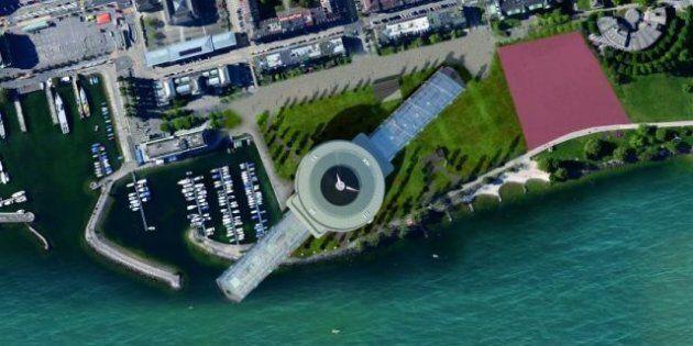 Un projet immobilier en forme de montre géante à la gloire de l'horlogerie suisse