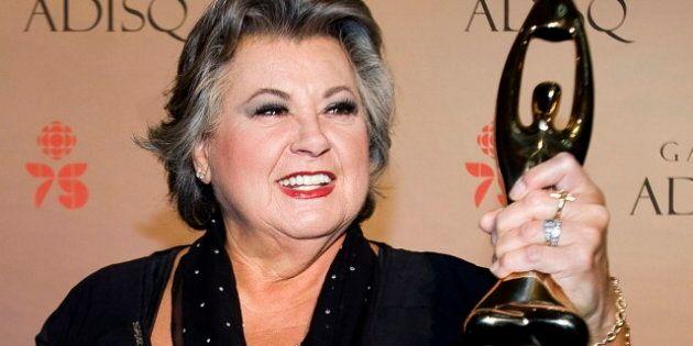Ginette Reno, star de calibre international, est toujours restée la