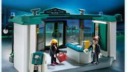 Playmobil invite les enfants à simuler un vol de