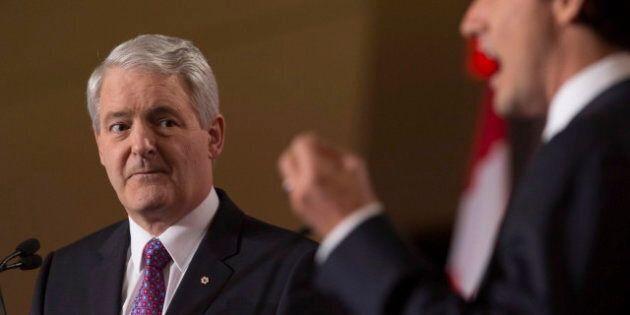 Marc Garneau critique sévèrement Justin Trudeau pour sa déclaration sur la clarté