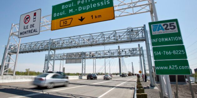 Pont à péage de l'autoroute 25: un recours collectif est autorisé