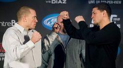St-Pierre croit son combat face à Diaz est celui que «tout le monde veut