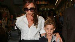 Le fils de David Beckham fait ses débuts comme mannequin