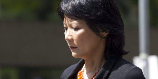 Olivia Chow atteinte d'une paralysie