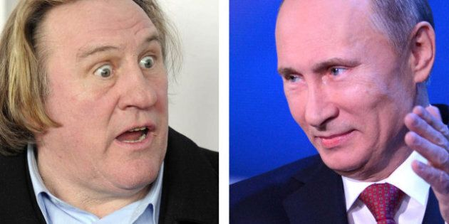 Vladimir Poutine se dit prêt à offrir un passeport russe à Depardieu