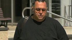 Comparution en cour de Luigi Coretti, soupçonné de bris