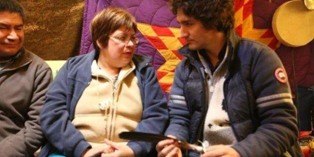 Justin Trudeau a rencontré la chef autochtone Theresa
