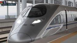 Chine: Un premier TGV parcourt la ligne à grande vitesse la plus longue du monde