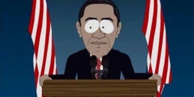 South Park vote pour Barack
