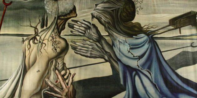 «La Vérità» de Salvador Dali: un tableau inédit exposé à Montréal avec le nouveau spectacle de Daniele...