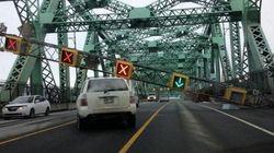 Le pont Jacques-Cartier a