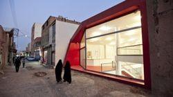 Découvrez le magasin sans nom en Iran